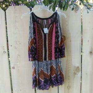 Free People Portobello Road cold shoulder dress